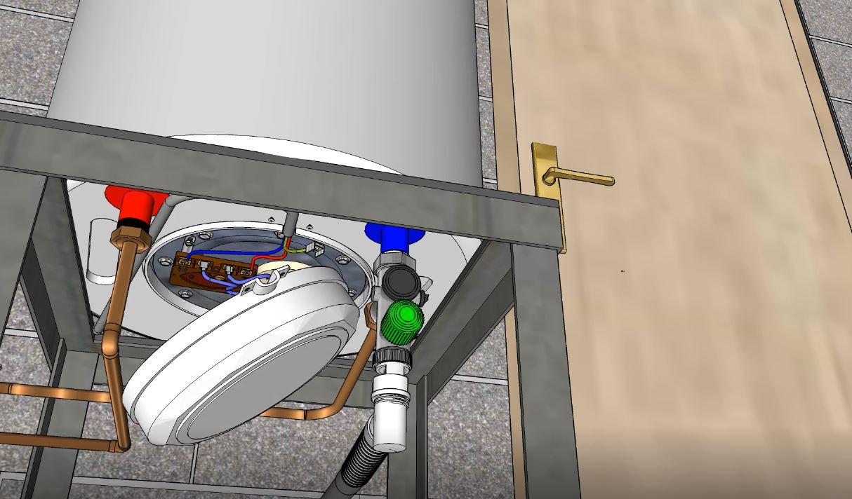 Capot de protection des bornes électriques