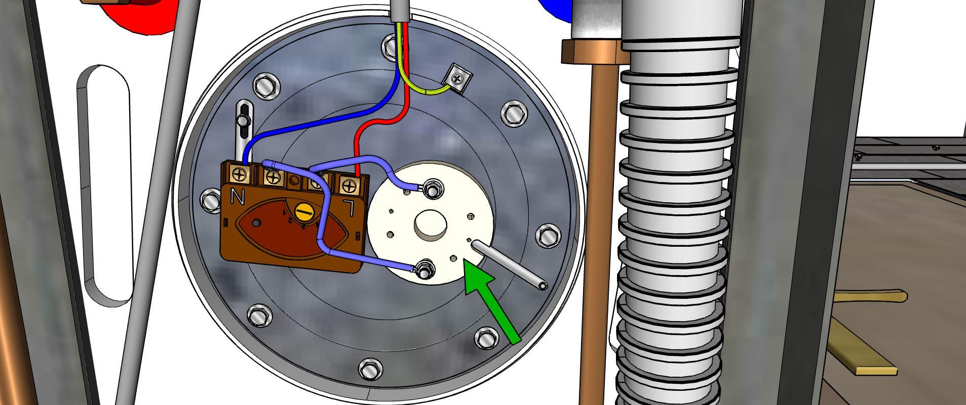 Résistance du chauffe-eau électrique