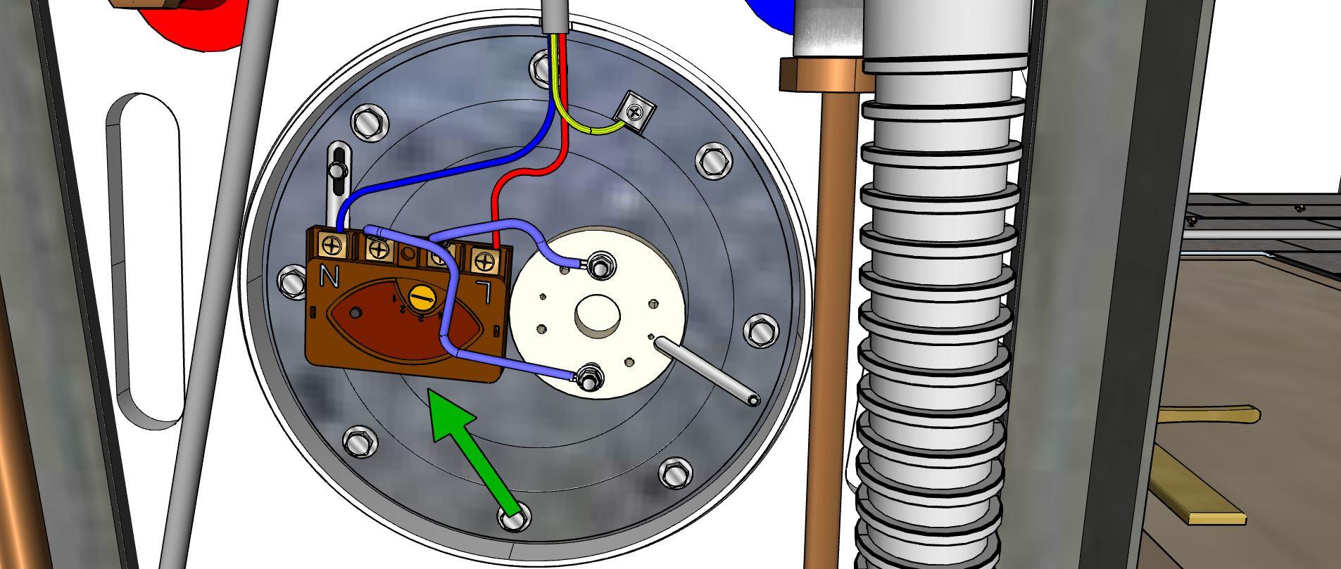 Thermostat du chauffe-eau électrique