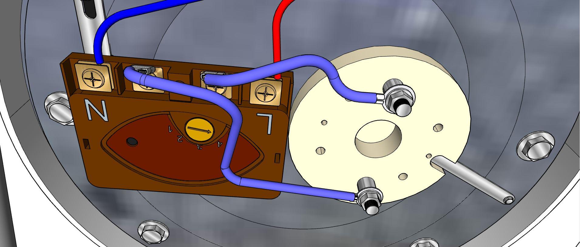 Réarmer la sécurité du thermostat