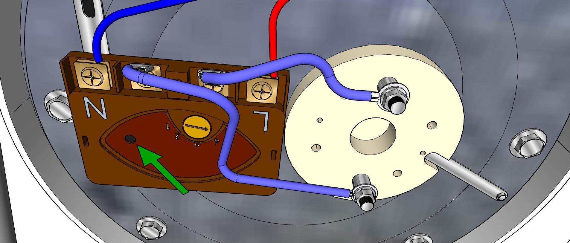 Petit cylindre de la sécurité