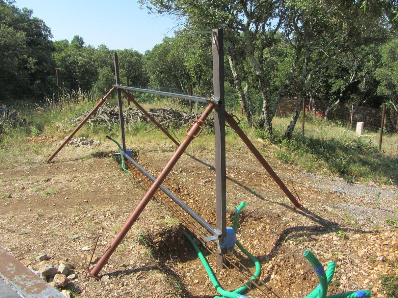 Gaines pour réseau enterré 40 mm verte