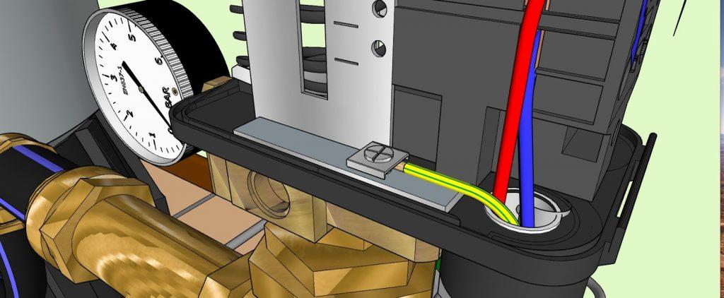 Surpresseur branchement electrique 010