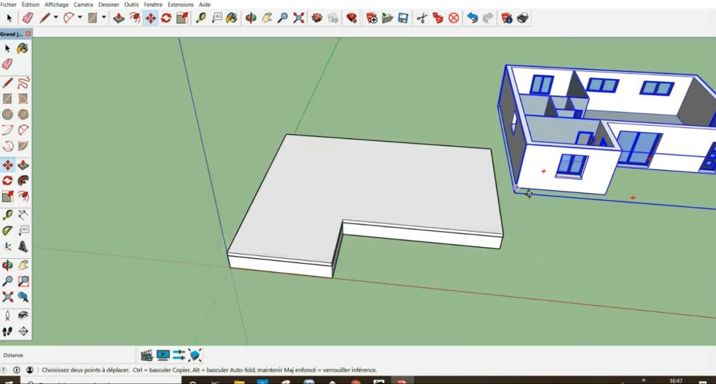 """Importation modèle """"MAISON 3D 5"""""""