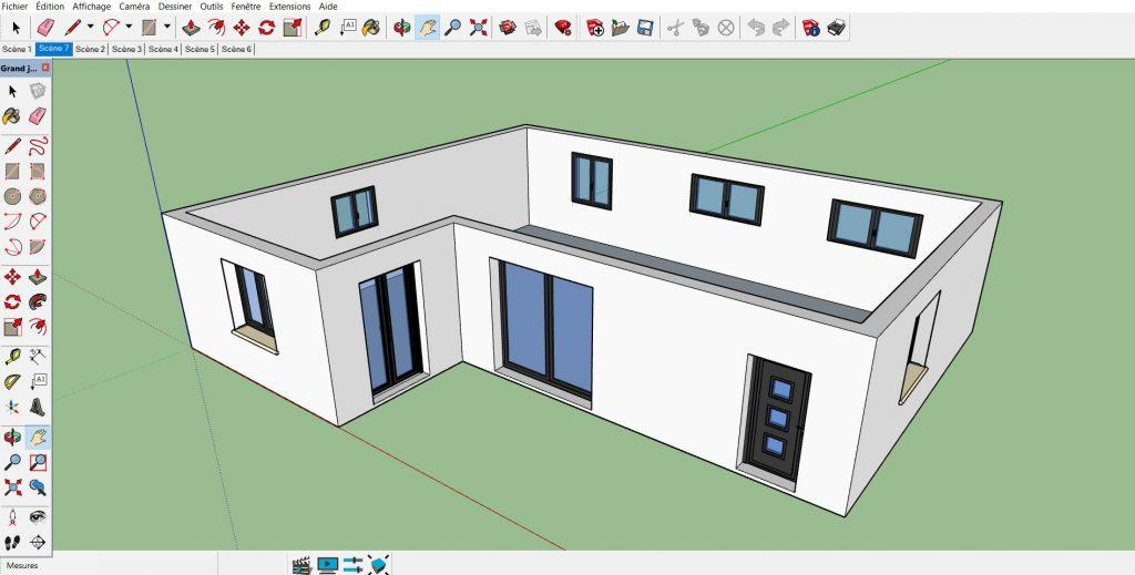 Plan De Maison 3 Dimensions Comment Faire Etape 5 Batirsamaison Net