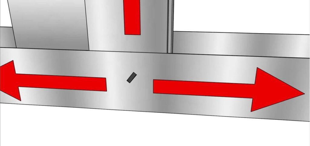 Blocage des déplacements verticaux et latéraux