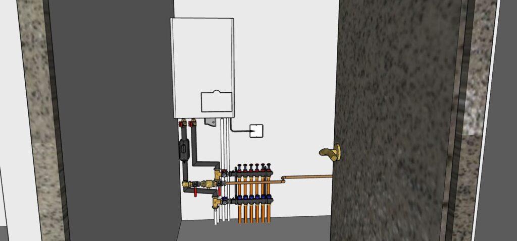 Module intérieur de la pompe à chaleur air/eau