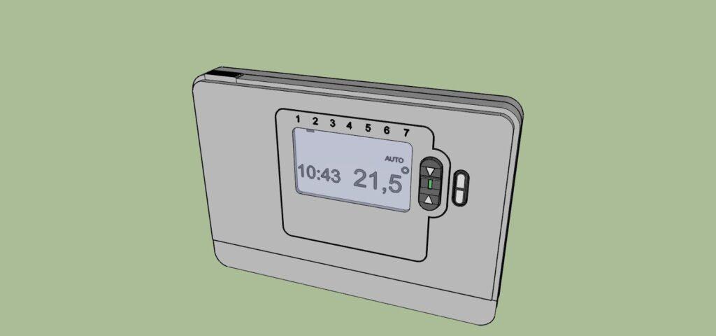 Télécommande-sonde radio