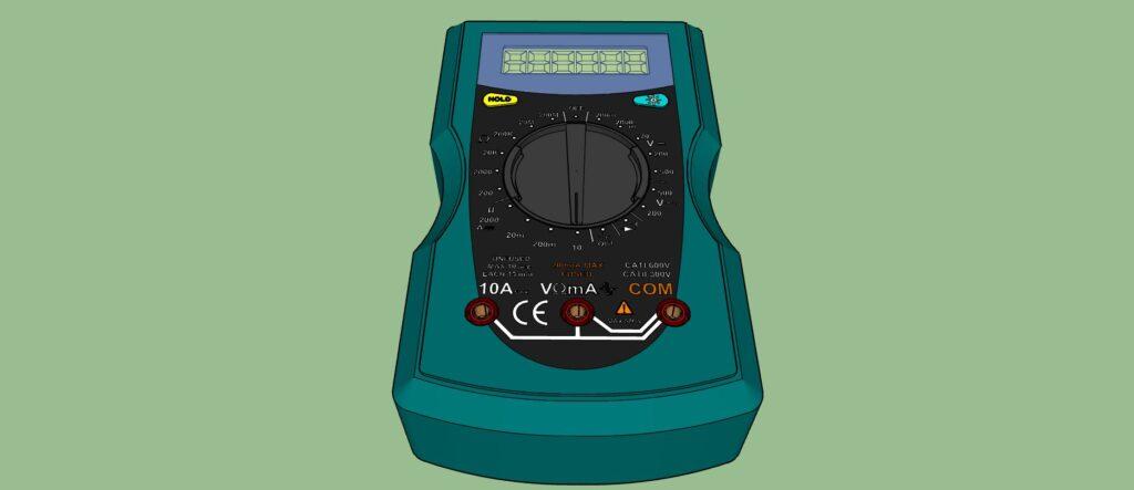 Multimètre numérique de poche