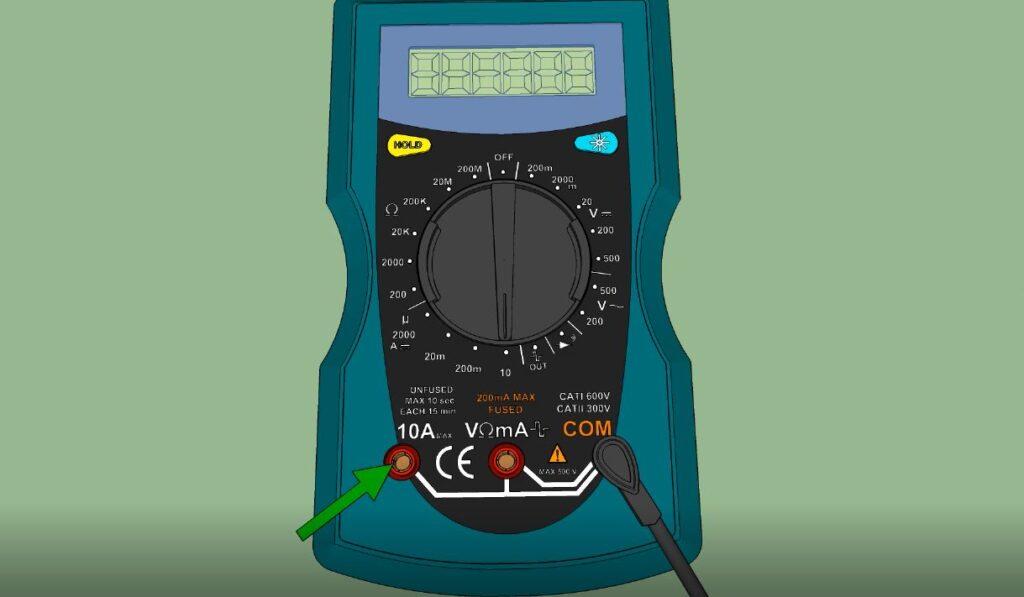 Borne Ampèremètre 10A