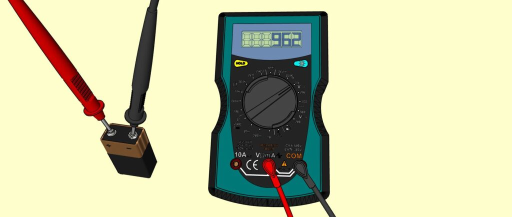 Mesure tension batterie