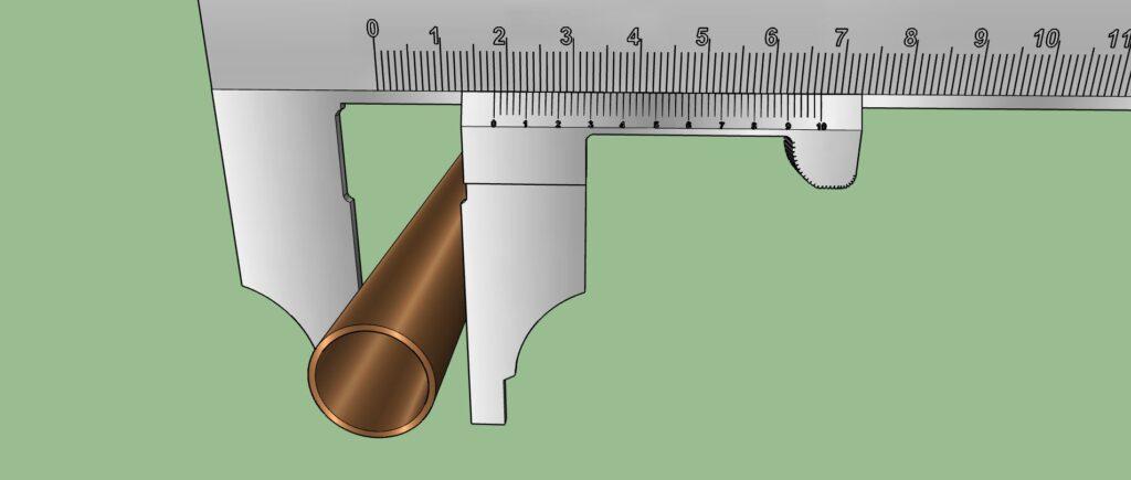 Mesure du diamètre extérieur