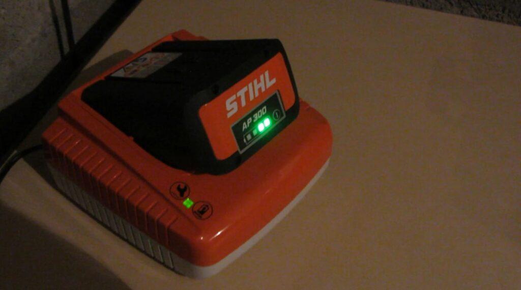 Batterie chargée à 50%