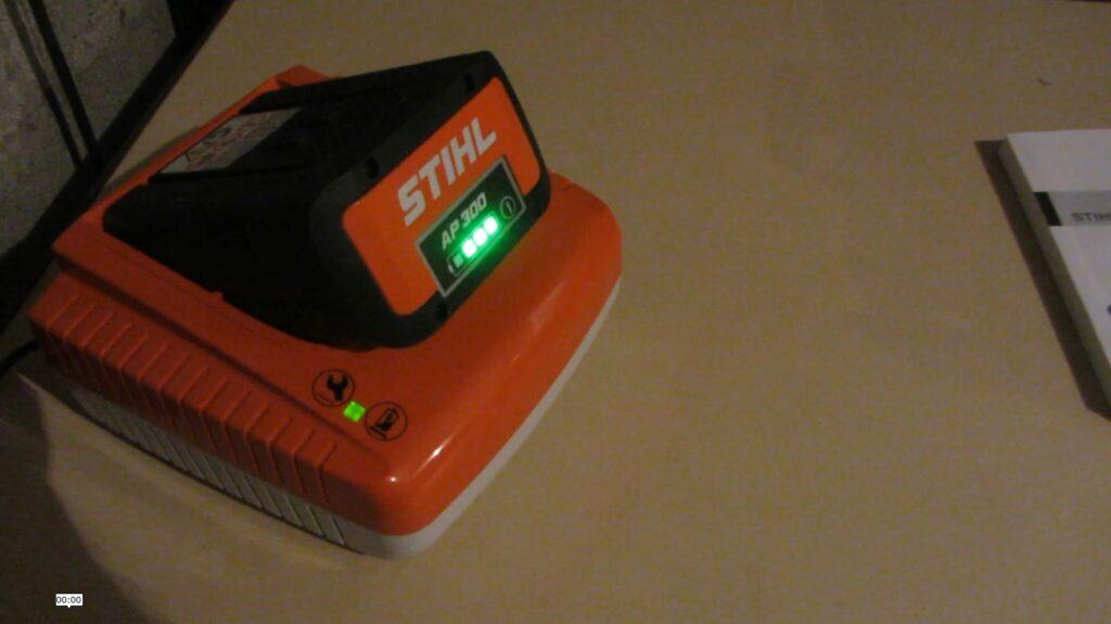 Batterie chargée à 75%