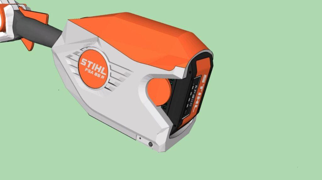 Compartiment batterie